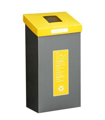 EKOŠ - veliki koš za ločeno zbiranje odpadkov s pokrovom